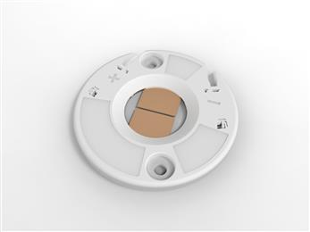TE Connectivity offers new LED holders that are compatible with most COB-LED lighting components. (Source: TE Connectivity, PR209)