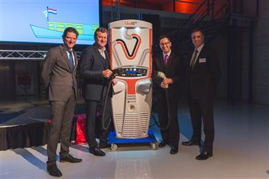 Opening of Tritium's EU HQ in Netherlands