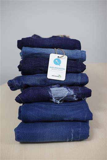 Archroma's blue specialties.  (Photo: Archroma)