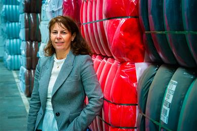 Karena Cancilleri, Vice President Engineered Products for Beaulieu International Group. 