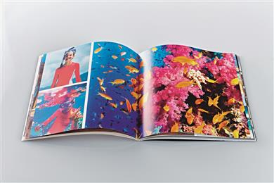 Graphical design for indoor and outdoor image printing. 