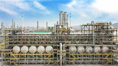 Dehydrogenation Plant of Hengli Petrochemical (Dalian) Refinery Co., Ltd. 
