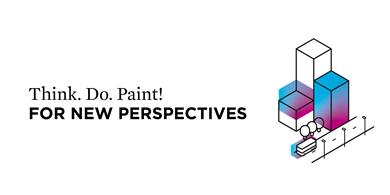 Think. Do. Paint! For a new perspective. Clariant @ChinaCoat 2019. (Photo: Clariant)