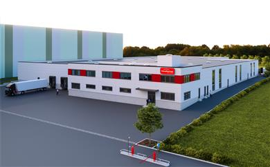 FoamPartner is expanding its manufacturing capacities at the company's Duderstadt site in Lower Saxony (Germany) with a new converting center for industrial specialty foams. 