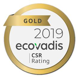 INEOS Styrolution awarded gold rating by EcoVadis for its advanced sustainability performance.
