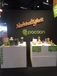 Pacoon displayed several concepts at the ProSweets 2019 fair focusing on features ranging from recyclability and renewably sourced materials, to bioplastics, coated paper, and mono-material package constructions. 