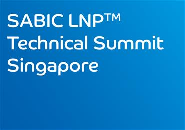 SABIC continues global LNP anniversary technical summit series in Singapore.