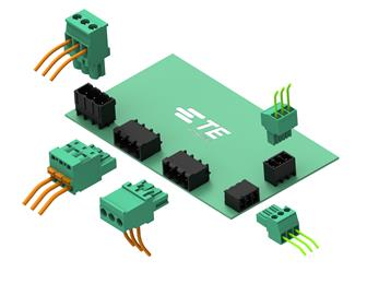 TE Connectivity adds high-temperature headers to BUCHANAN PCB Connector portfolio. 