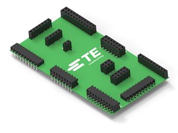 TE Connectivity introduces AMPMODU connectors with 2 mm centerlines for board signal transfers. (Source: TE Connectivity, PR393)