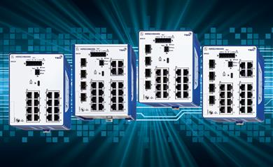 Belden future-proofs large industrial networks with advanced security and redundancy.  (Photo: Belden, PR493)