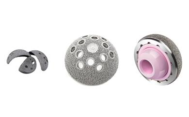Examples of AK Medical implants manufactured on Arcam EBM machines. (Photo: AK Medical)