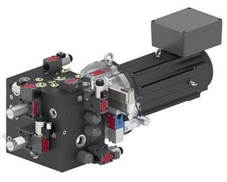 Moog Modular Electrohydrostatic Actuation System (Modular EAS).  (Photo Moog, MGPR2002)