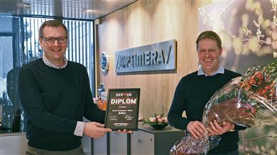 "BerryAlloc wins 2020 ""supplier of the year"" award from Nordic company Optimera.