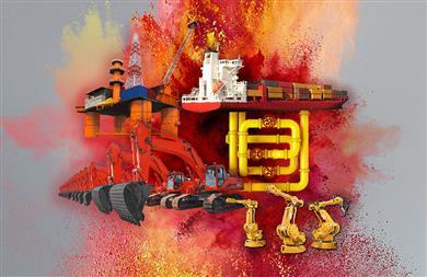"""科莱恩的""""70""""级颜料产品系列顺应全球无铅涂料的大趋势,取代了工业应用中的含铅颜料。 (图片来源:科莱恩)"""