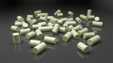 Clariant's high-performance CATOFIN catalysts for selective dehydrogenation.  (Photo: Clariant)