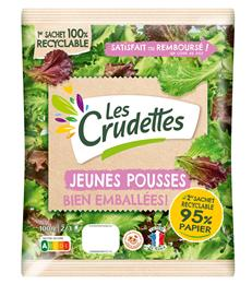 Les Crudettes salads stay fresh in Mondi's recyclable functional barrier paper.  (Photo: Mondi, PR196)