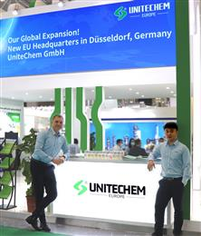 UniteChem's new Düsseldorf sales office is staffed by an experienced team committed to enhance the support of the Group's European customers and grow its stabilizer business through greater collaboration across the value chain.